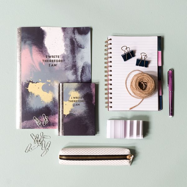 The Sisters Office Supplies With Watercolour Designs For Creative Ones Price Per Item From DKK 166 EUR 023 ISK 39 NOK 280 G