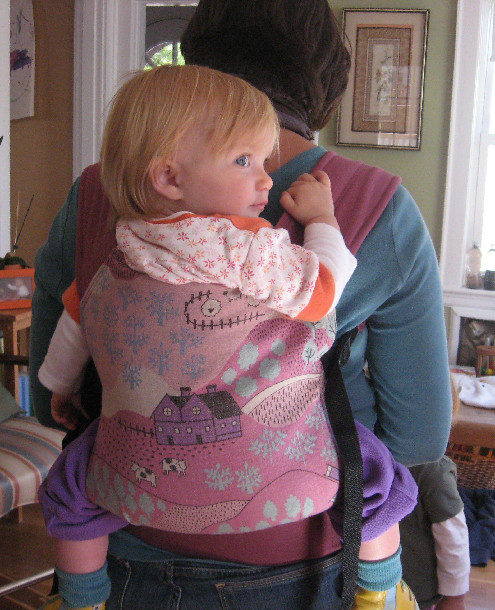 Moderne tuto pour coudre un porte-bébé préformé (gratuit) | Pour les EO-34