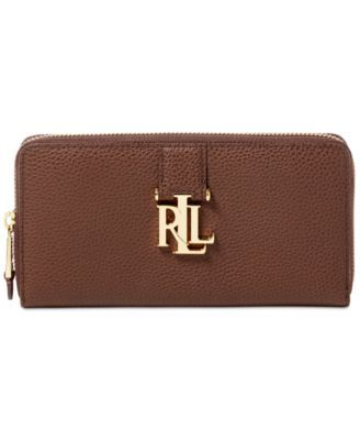 717d8ccd26 Lauren Ralph Lauren Carrington Zip Wallet