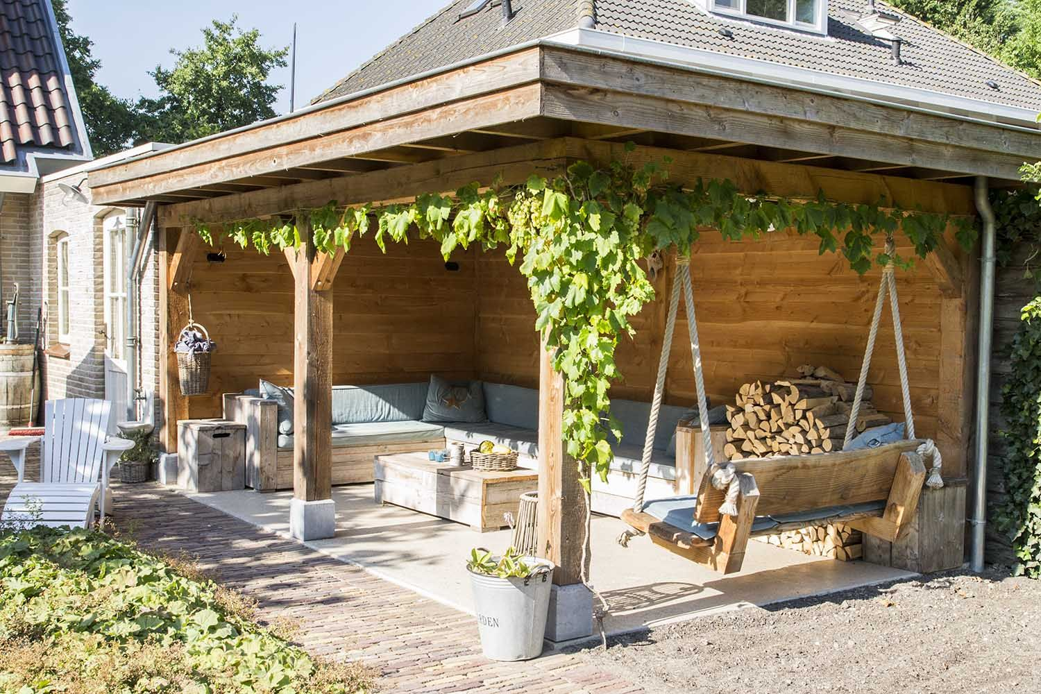 Inrichting Overkapping Tuin : Afbeeldingsresultaat voor inrichting overkapping tuin in