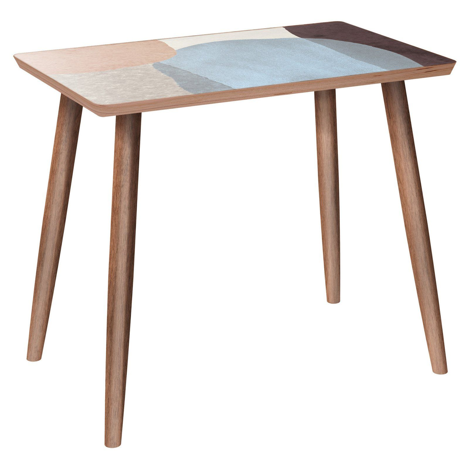 Nyekoncept Brixton Dowel Nordic Watercolor Side Table Side Table