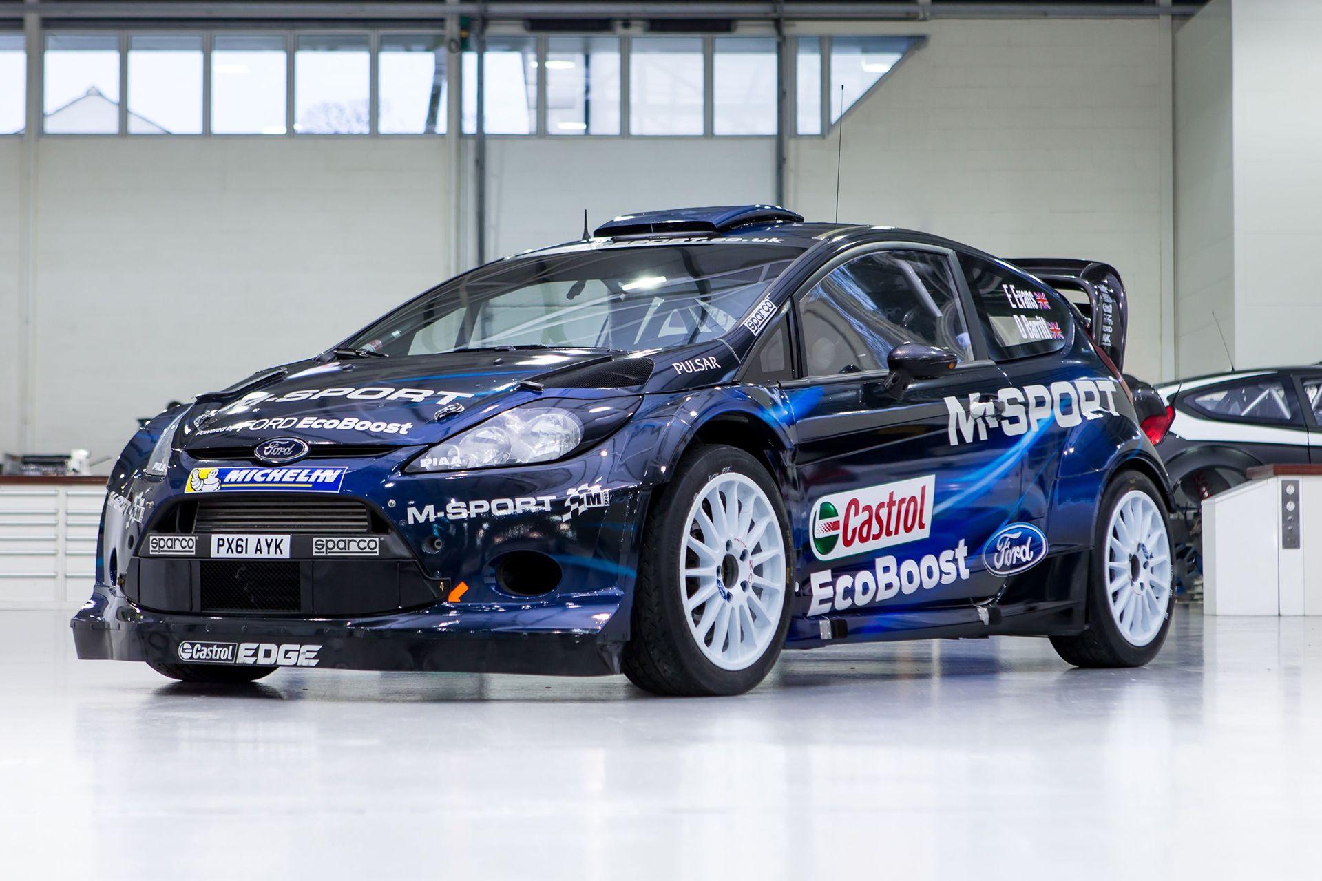 Ford Fiesta Wrc 2014 The Car For Mikko Hiervonen And Elfyn Evans