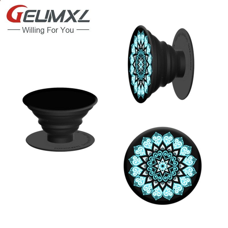 1Pc New Fashion Pop sockets Mobile Phone Holders Stander popsocket smartphone holder Wire Wrapping Ring Holder Magnetic