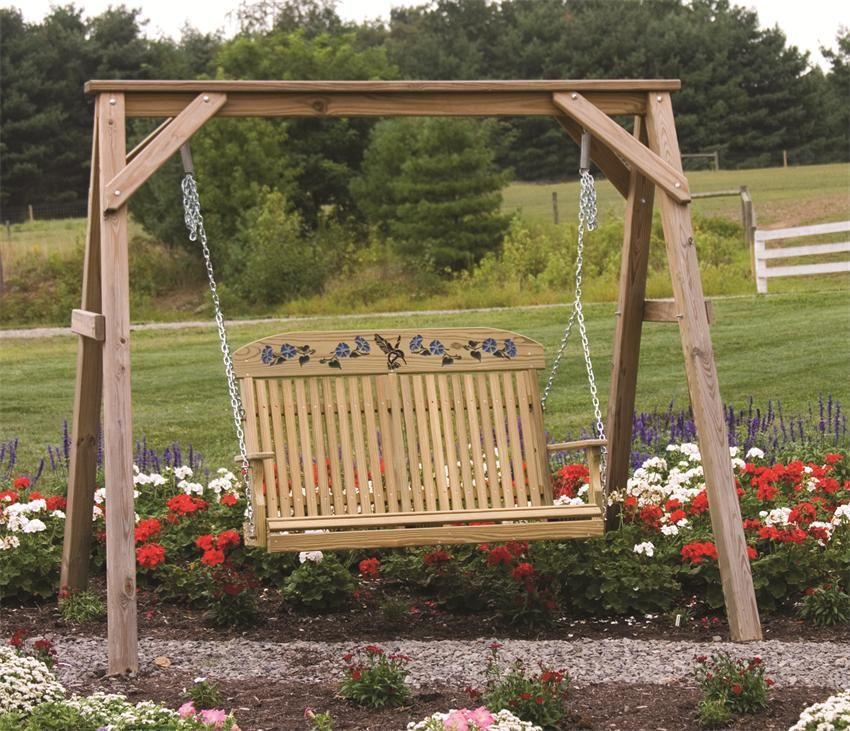 LuxCraft Hummingbird Porch Swing   Porch swings, Swings and Hummingbird