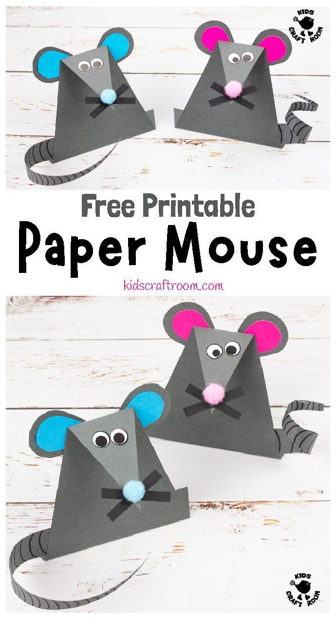 Photo of Cute Paper Mouse