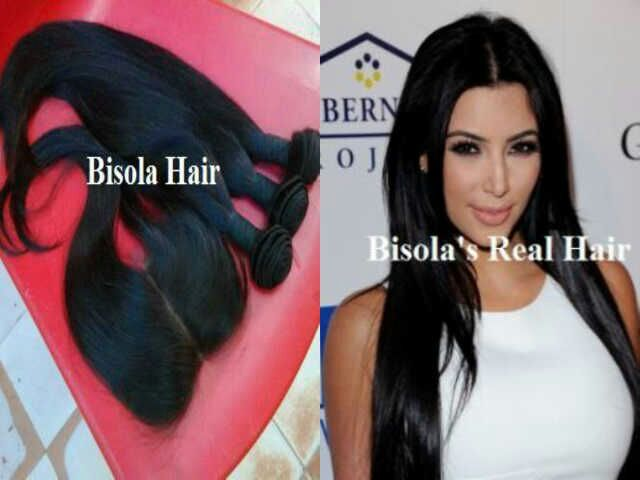 Bisola Hair Celebrity Hair Extension Russian European Weave In