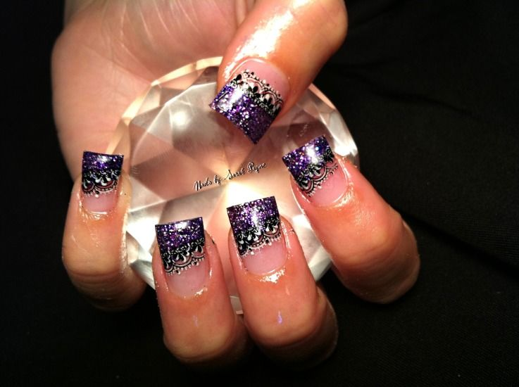 diamond Nail Designs | ... the design she is also good with taking ...