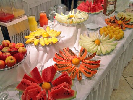 Fotos Del Hotel Aguas Mornas Palace Hotel Fruit Displays Fruit Display Fruit Buffet