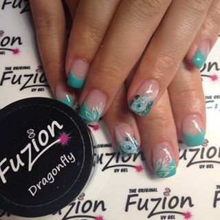 Fuzion Gel Nails Google Search