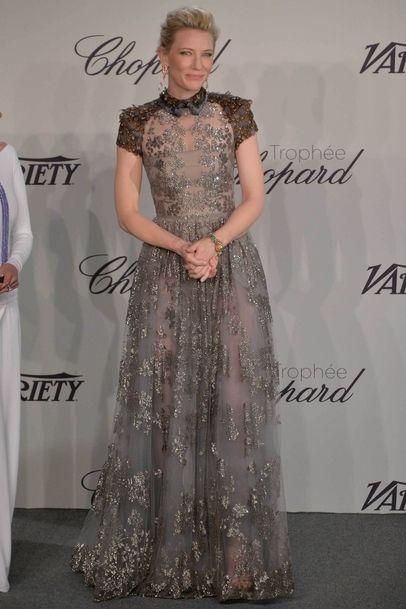 Cate Blanchett au Festival de Cannes le 15 mai 2014