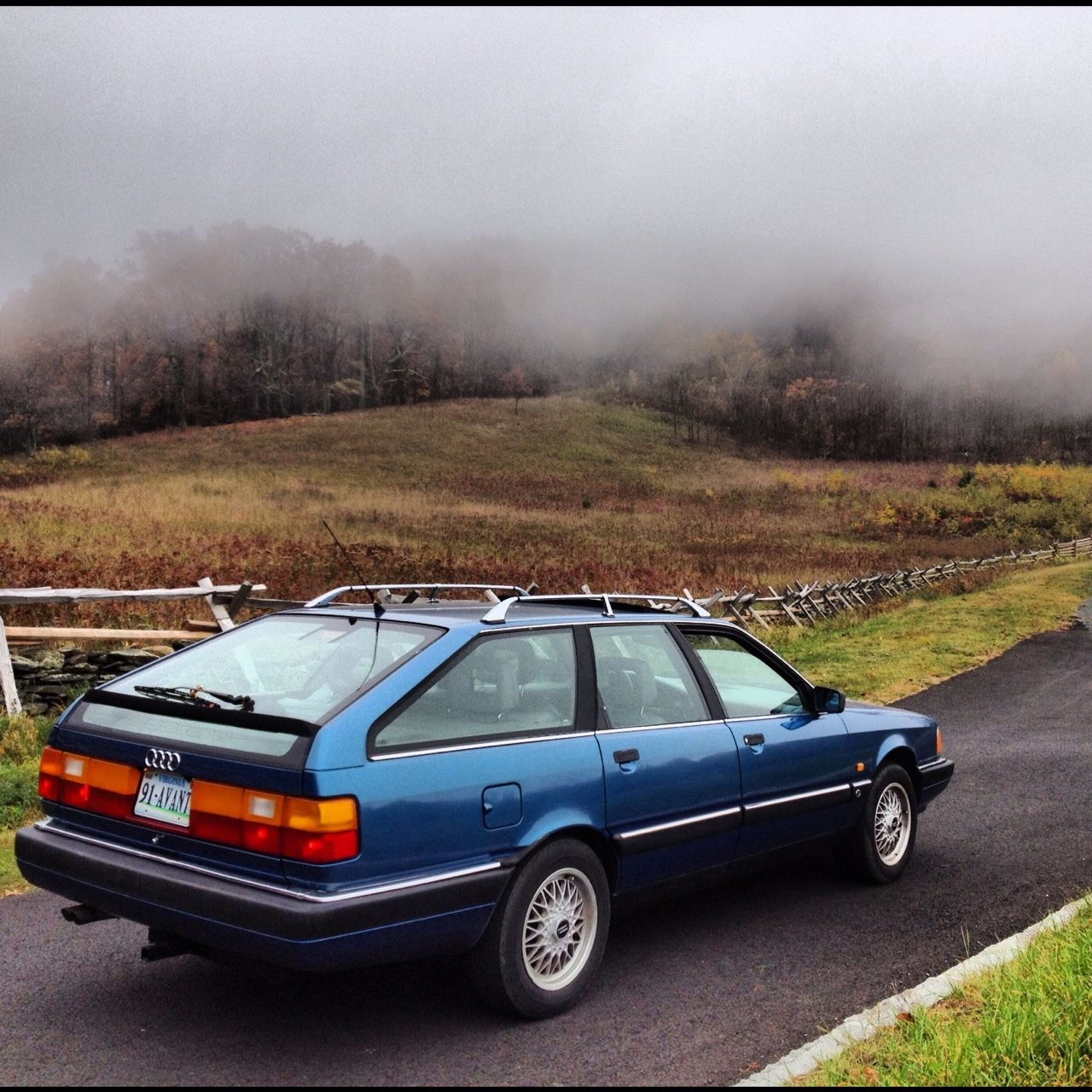 Audi 5000 Wagon....these still look amazing! In Europe 100/200 Avant