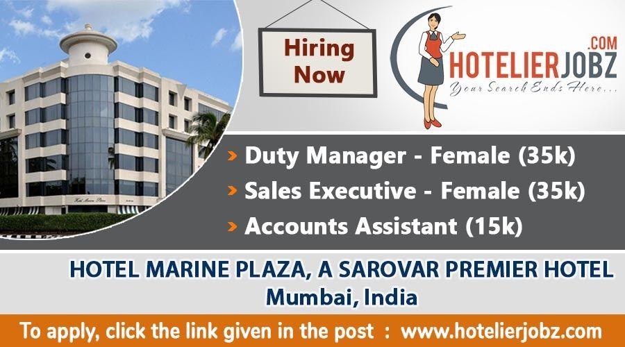 Hotel Marine Plaza, A Sarovar Premier Hotel Mumbai, India Is