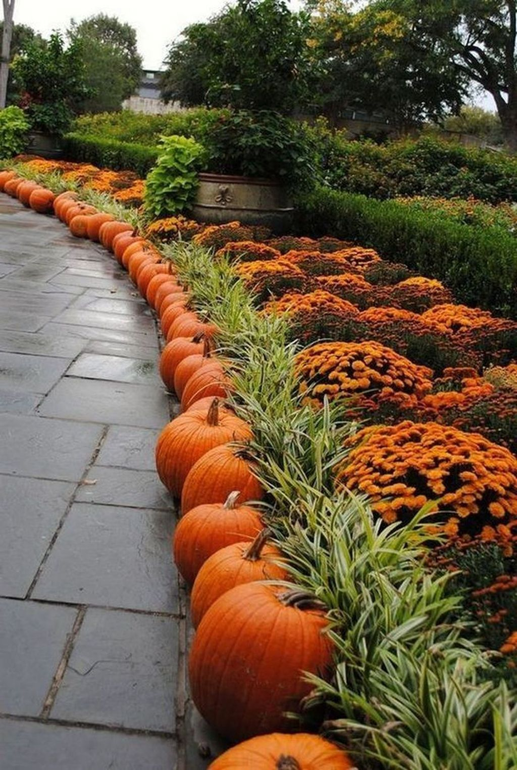 Inspiring Front Yard Landscaping For Fall Season (With ...