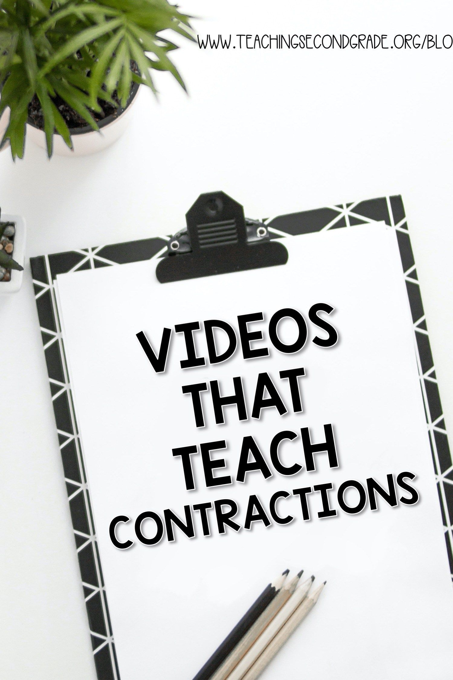 Videos That Teach Contractions I Love Teaching About