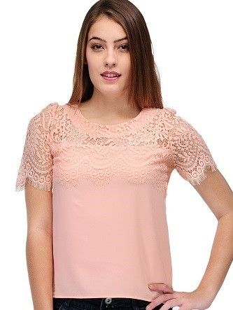 Pink Lace Top #casual #weekend #fashion #PINK