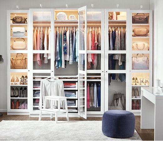 Pax Kleiderschranksystem Schlafzimmer Schrank Einrichtung