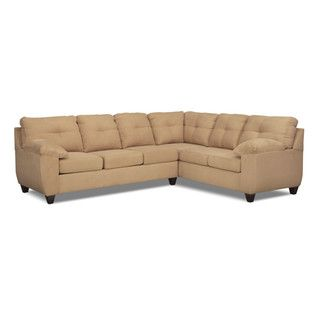 Ricardo 2-Piece Sectional with Right-Facing Sofa - Camel  sc 1 st  Pinterest : brando sectional - Sectionals, Sofas & Couches