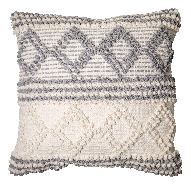 Better Homes Gardens Neutral Textured Decorative Throw Pillow