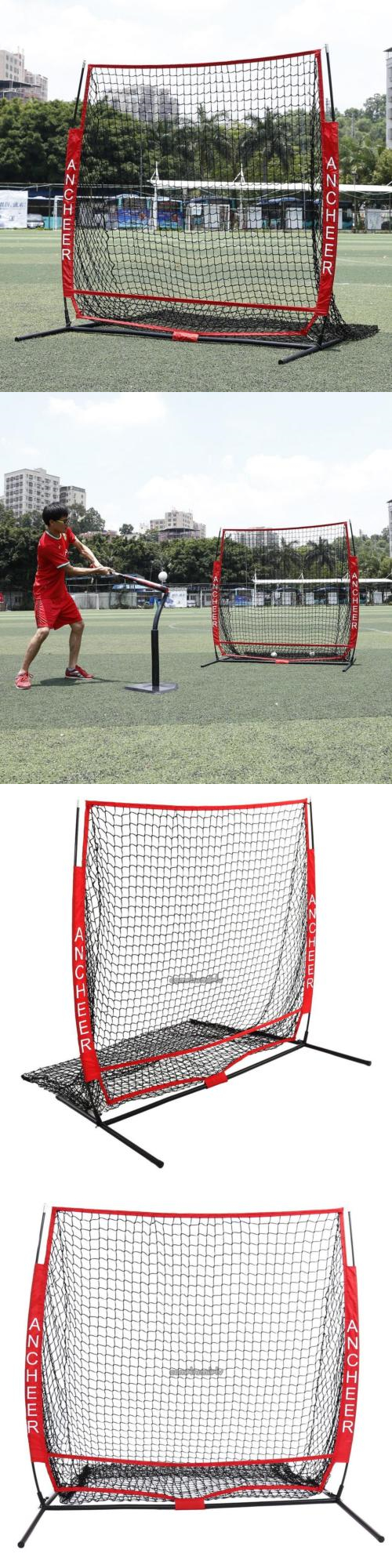 Batting Cages and Netting 50809: 5 X 5 Baseball Training Net ...