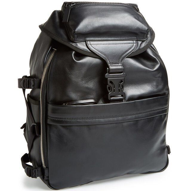 Leather Tech Backpack - Alexander McQueen