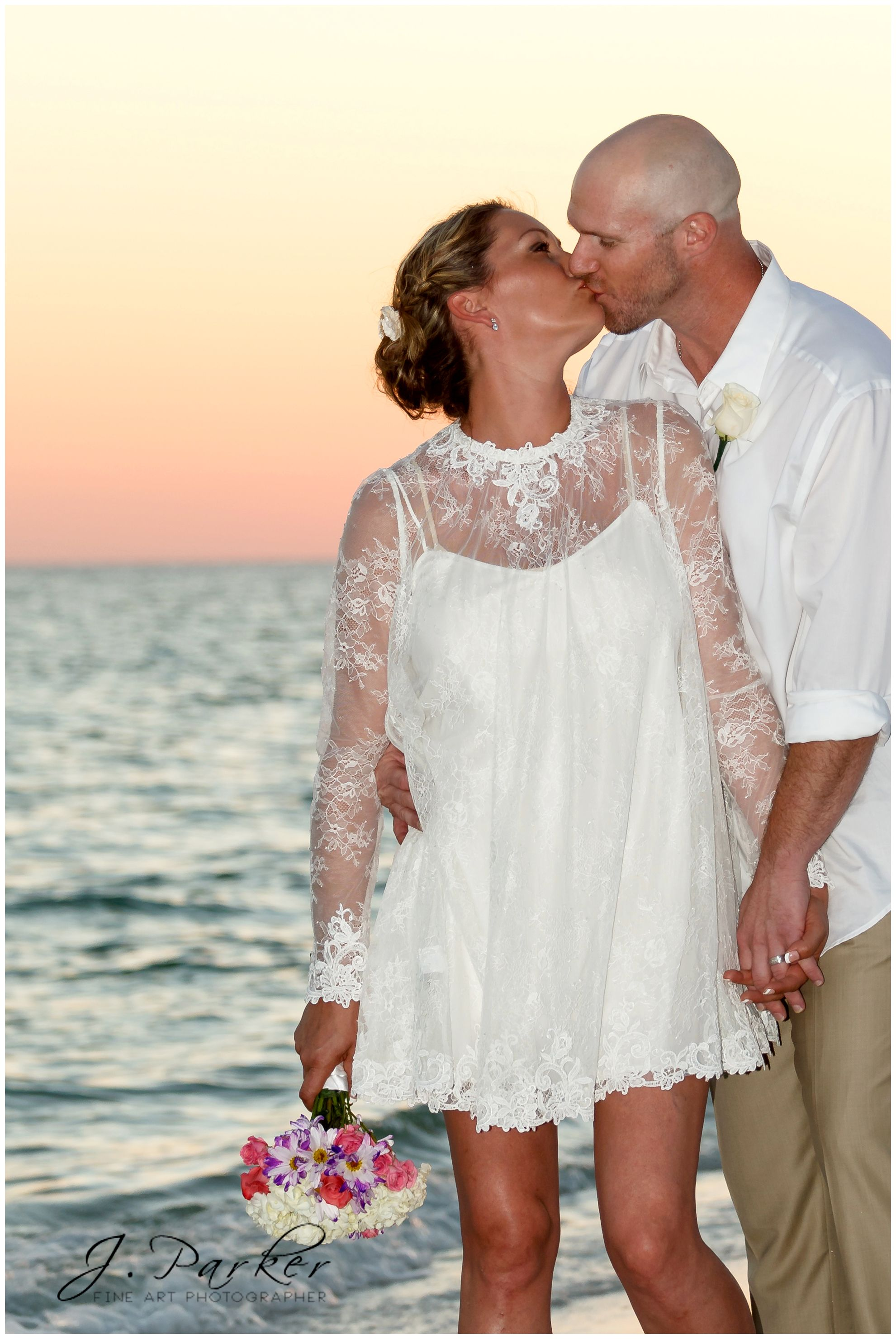 Beautiful Second Marriage Renewal Of Vows What A Beautiful Destination Destin Wedding Dresses Second Marriage 2nd Marriage Wedding Dress Casual Wedding Dress