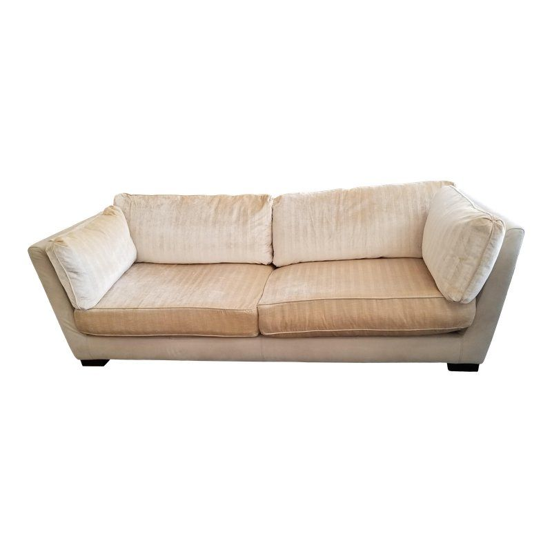 Marvelous Fendi Cream Velvet Suede Sofa Fendi Casa In 2019 Suede Gmtry Best Dining Table And Chair Ideas Images Gmtryco