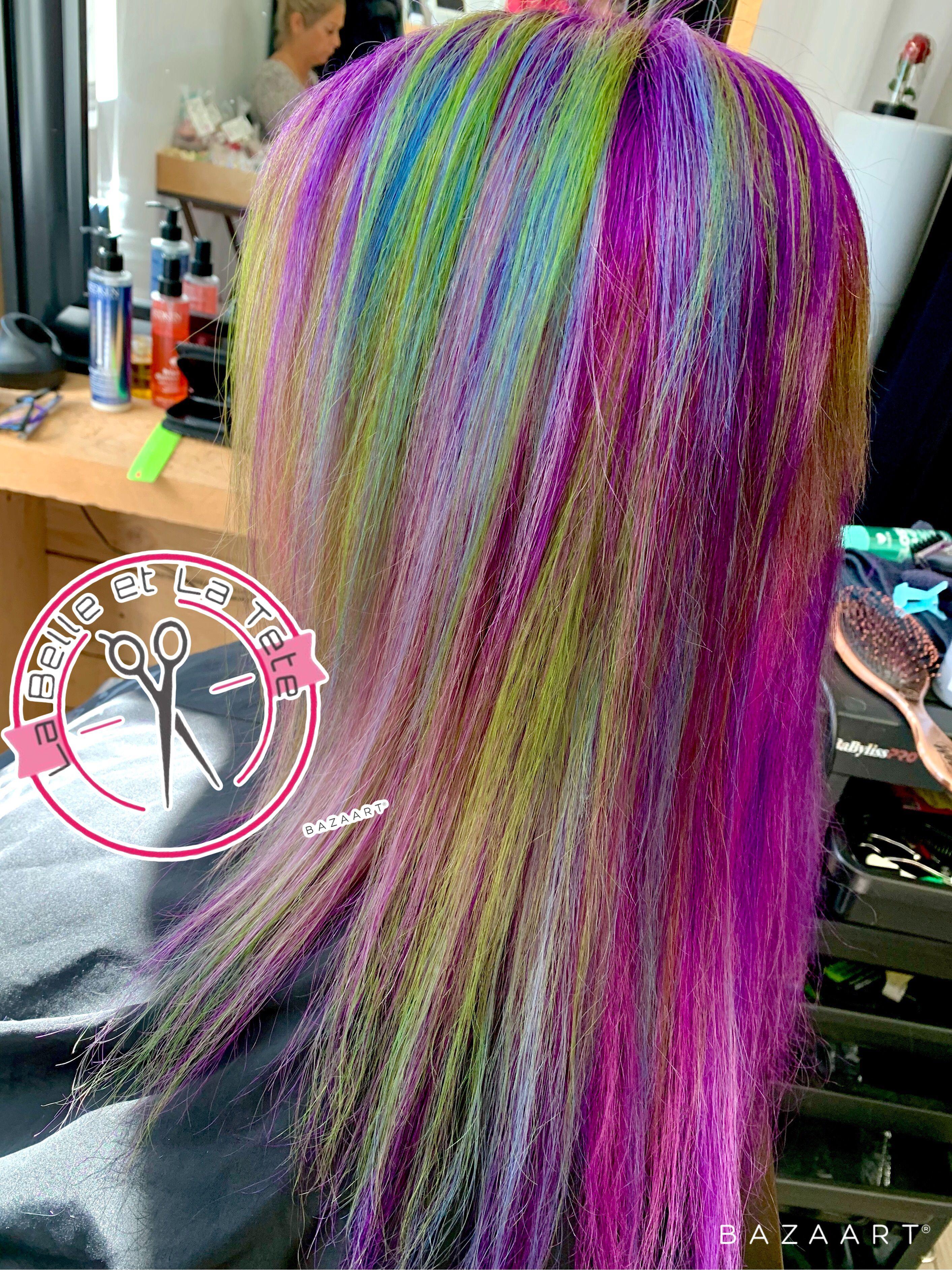 Rainbow Hair Hair Styles Rainbow Hair Hair