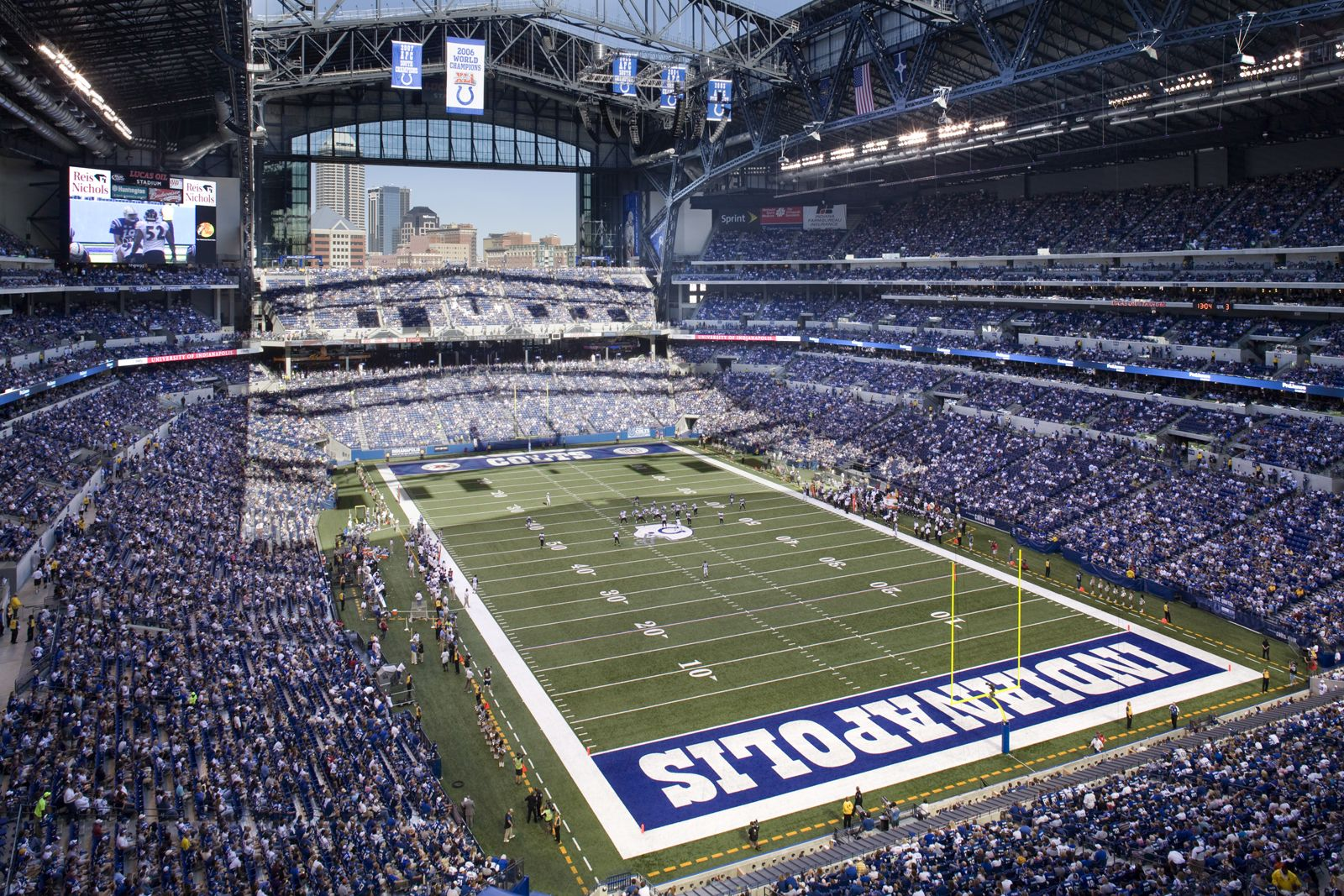 How Much Does It Cost To Attend An Indianapolis Colts Game Lucas Oil Stadium Indianapolis Colts Colts Tickets
