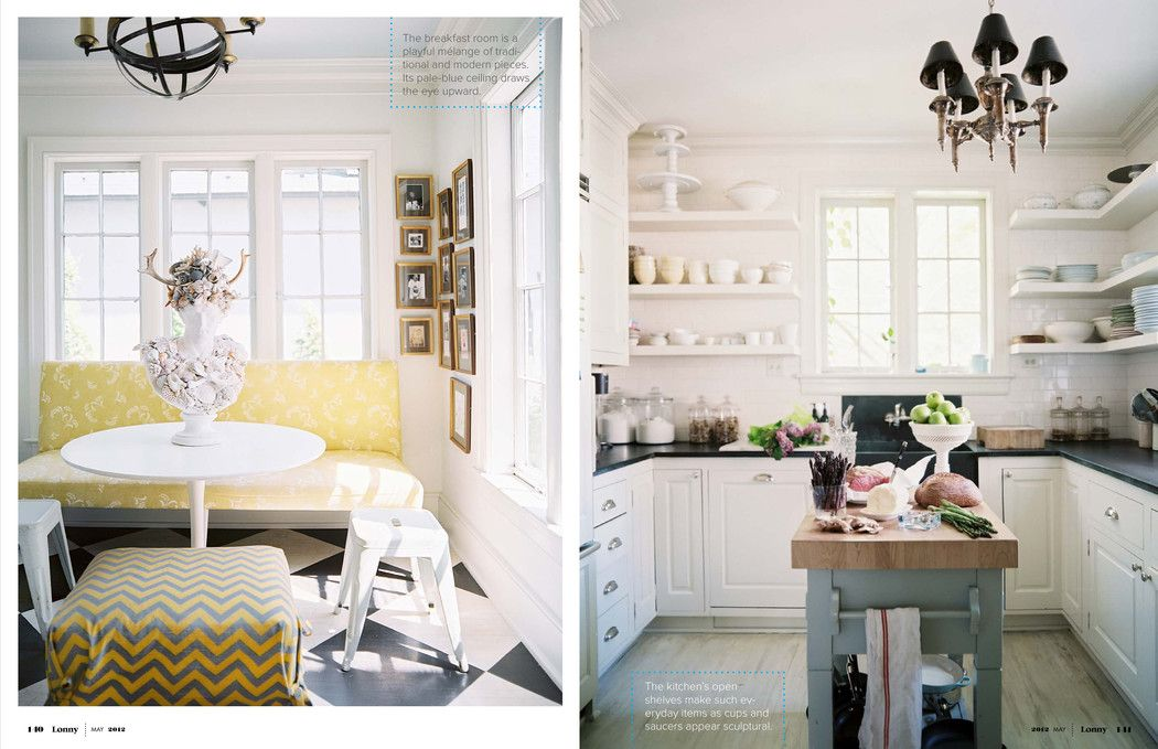 Rue Magazine May 2012 - Christy & Ryan Ford's home - Patrick Cline photography & Michelle Adams art direction.
