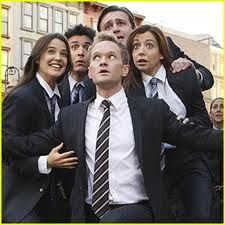 How I met your mother. Nothing suits me like a suit.