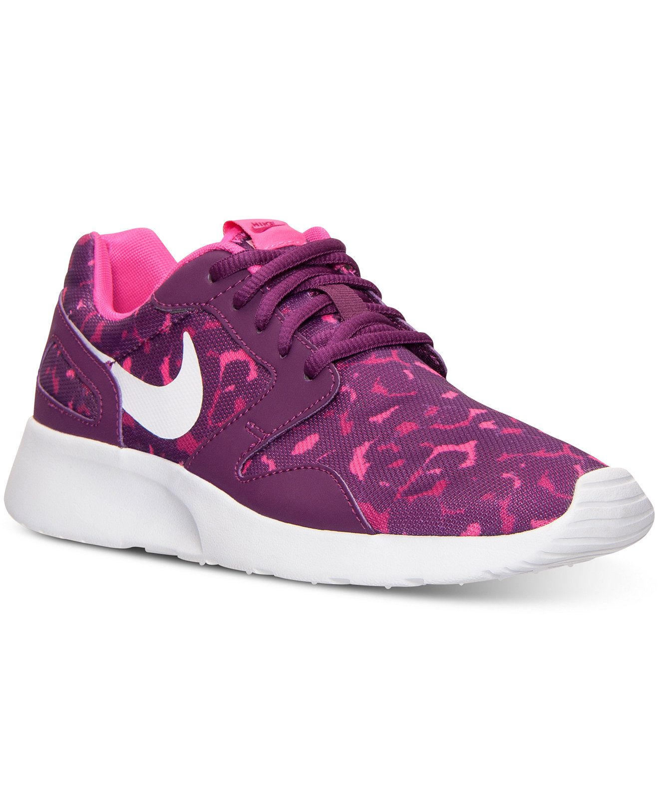 hot sale online b028c 923f0 Nike Women s Kaishi Print Casual Sneakers from Finish Line - Finish Line  Athletic Shoes - Shoes - Macy s