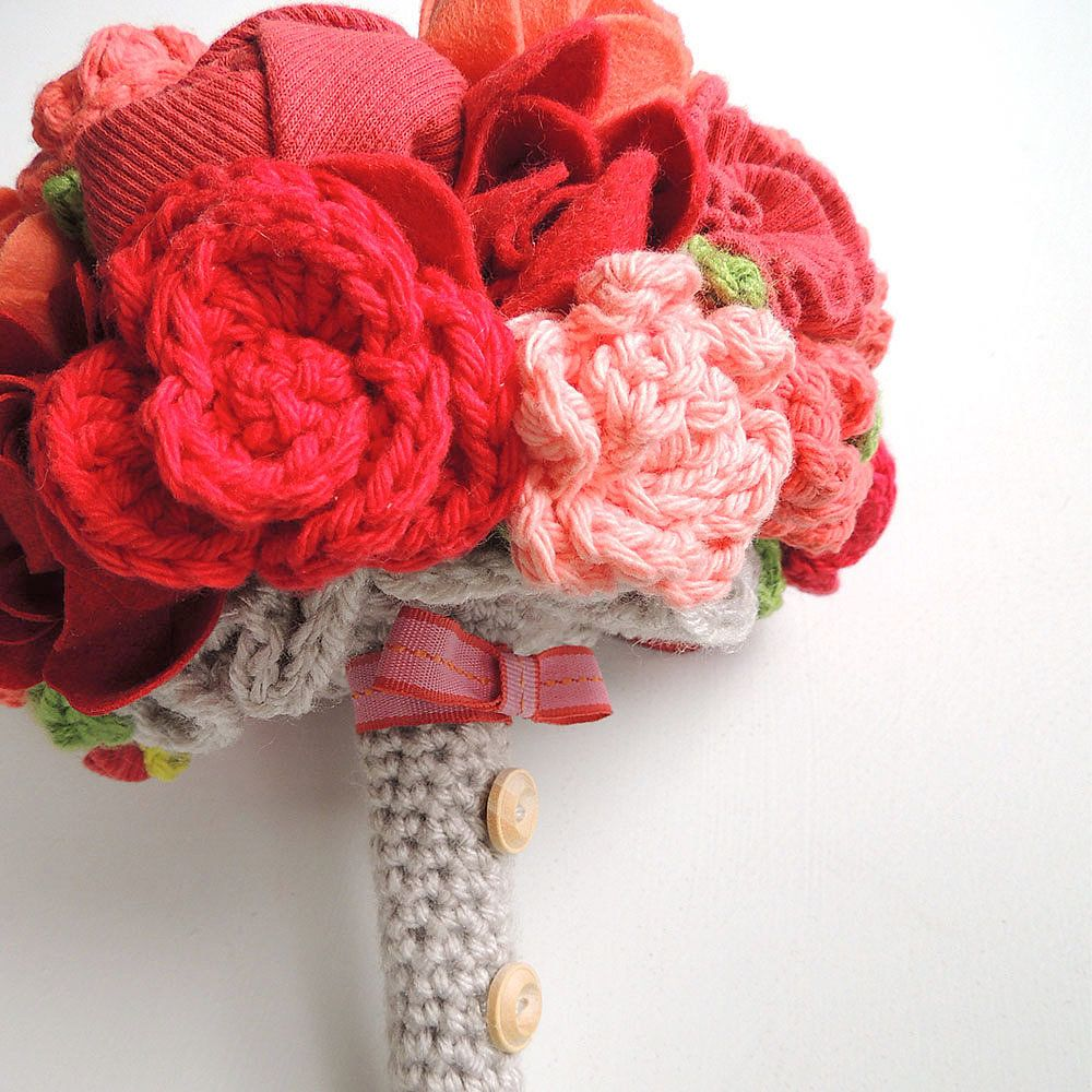Soft arrangement flower blossom crochet flowers and crochet crocheted flower blossoms spectacular izmirmasajfo
