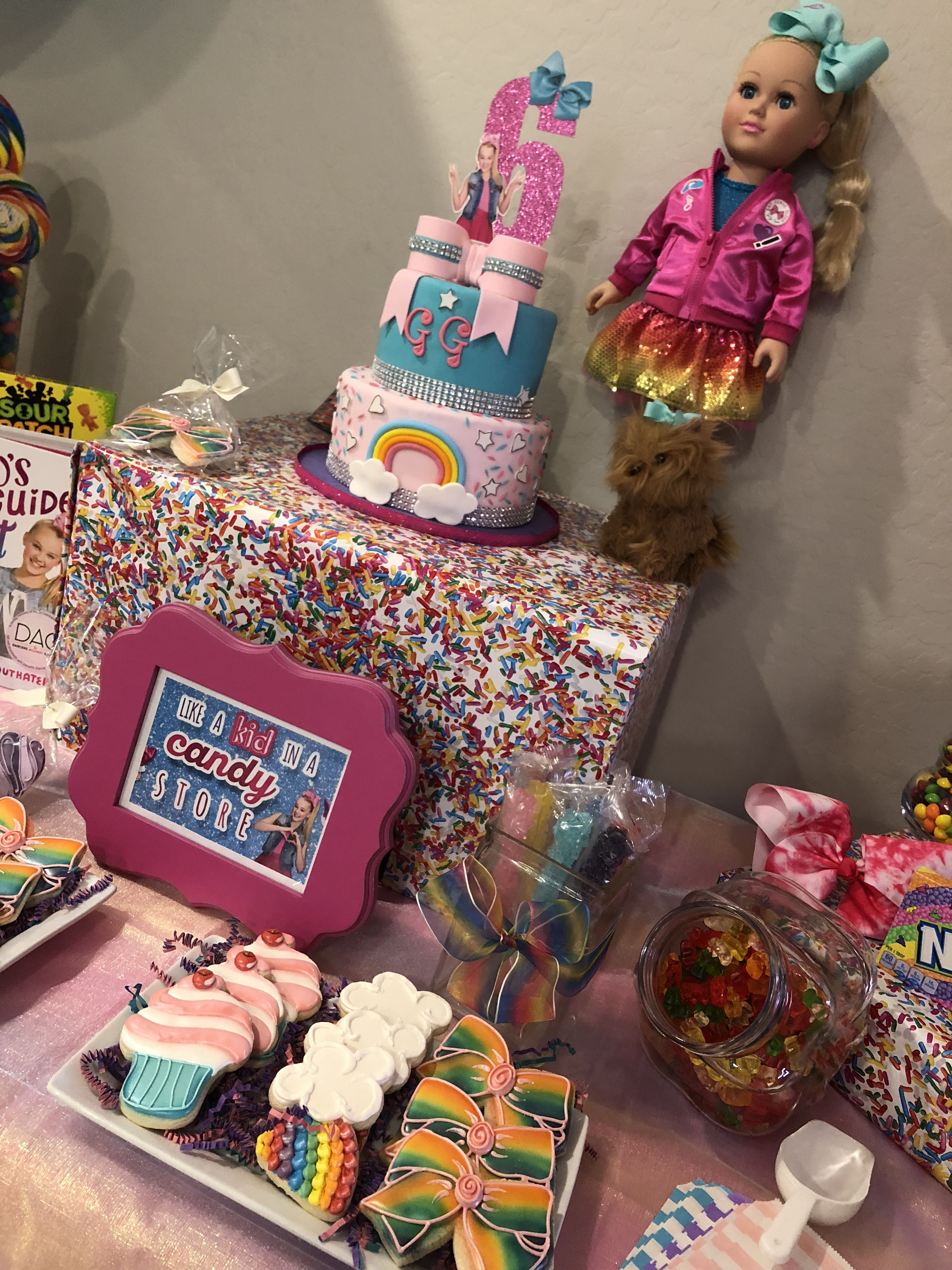 Jojo Siwa Party Hannah S 7th Birthday Ideas In 2019