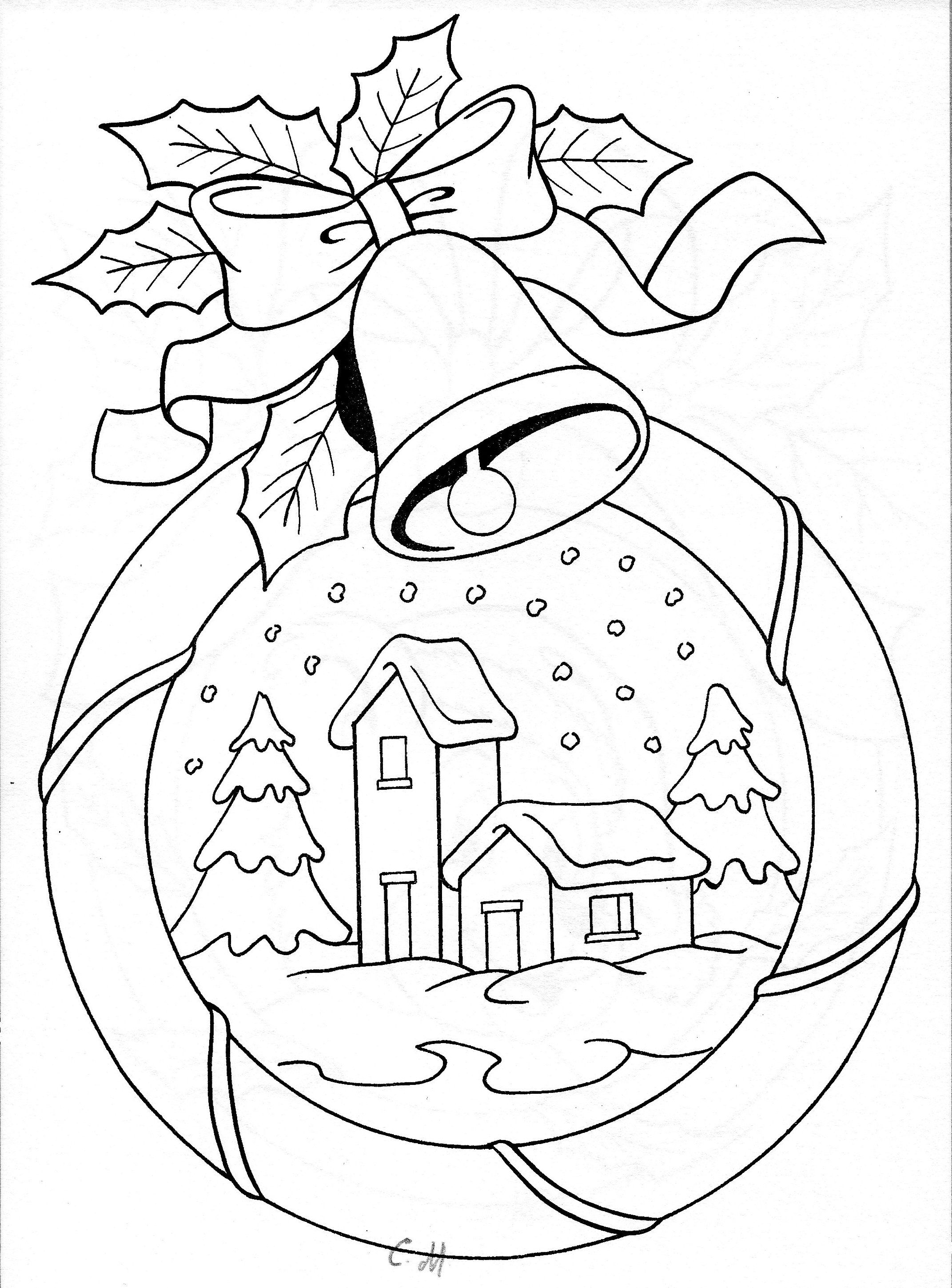 Christmas snowy scene embroidery | CUTWORK embroidery | Pinterest ...
