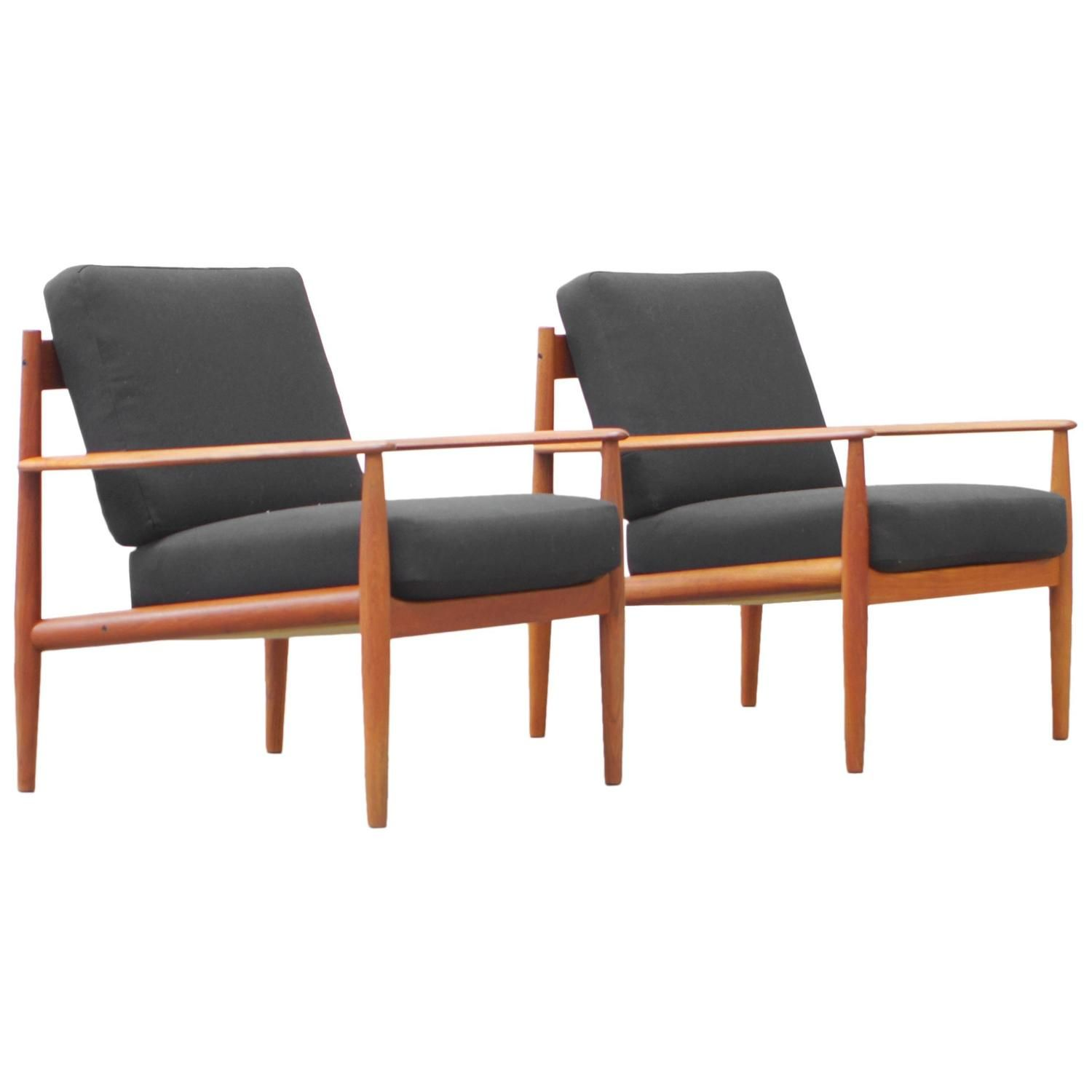 Elegant Teak Easy Chair By Grete Jalk For France And Son Typ 118
