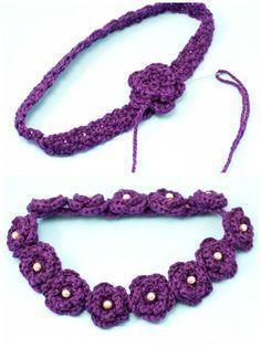 Daisy Flower Crown Crochet Pattern #crownscrocheted Daisy Flower Crown Crochet Pattern via Hopeful Honey #crownscrocheted