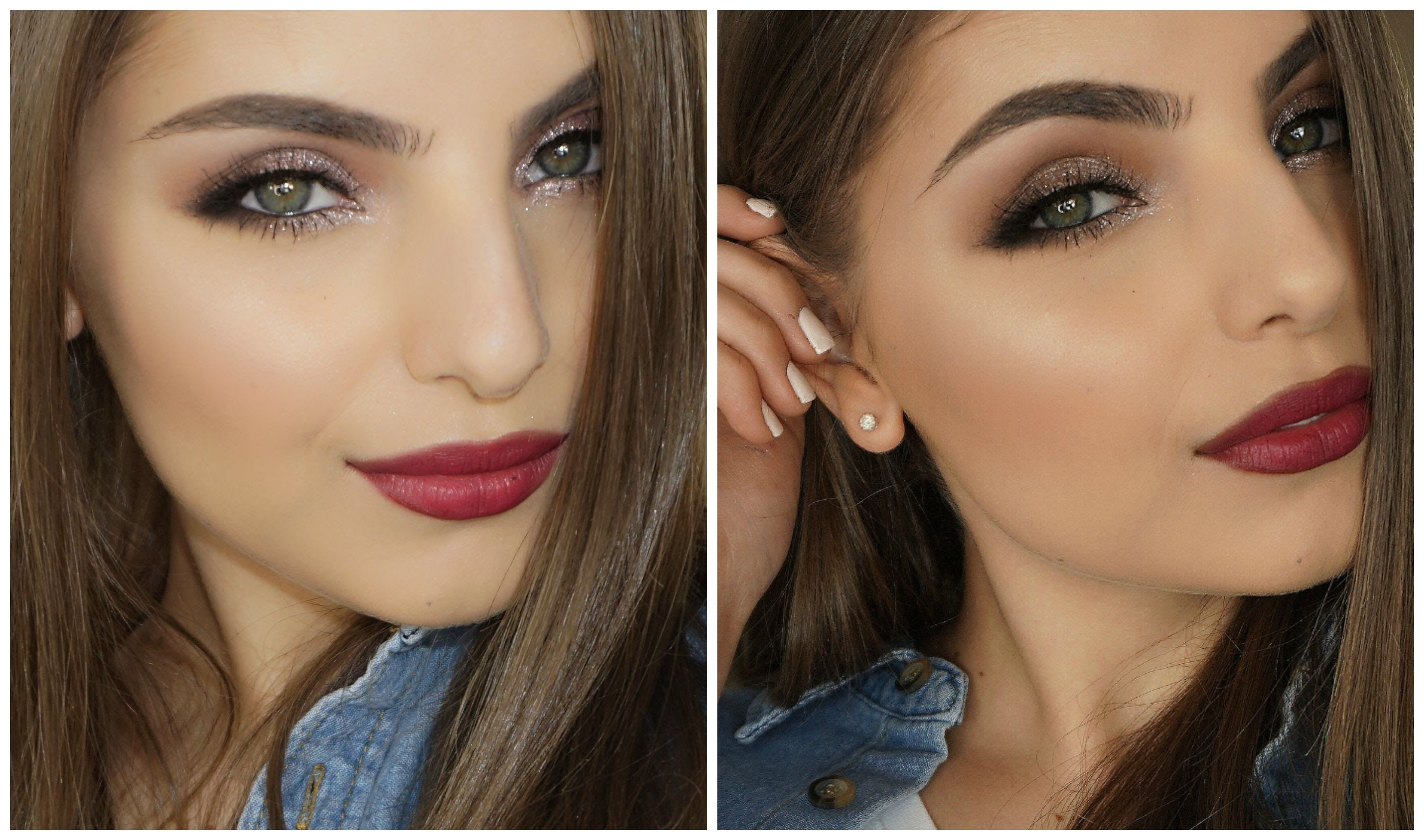 Wearable Winter Glam Makeup Tutorial Glam makeup, Glam