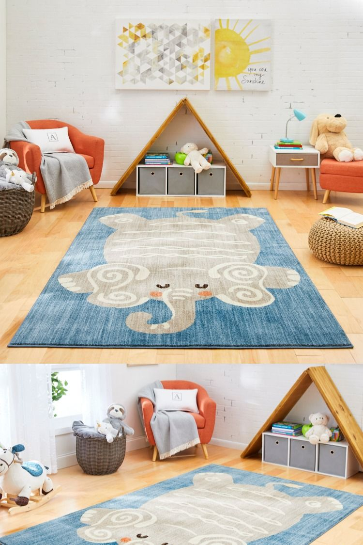 Add a charming and playful touch to your kid's decor with the adorable collection of the Marmalade area rugs, exclusively from Bed, Bath and Beyond. Kid-friendly, soft and fade-and stain-resistant making a perfect place for your little ones to explore and learn all day long! #mohawkhome #kidsroom #kidfun #kidfriendly #kidsdecor #playroom #kidplayroom #mohawk #mymohawkhome #mymohawkrug