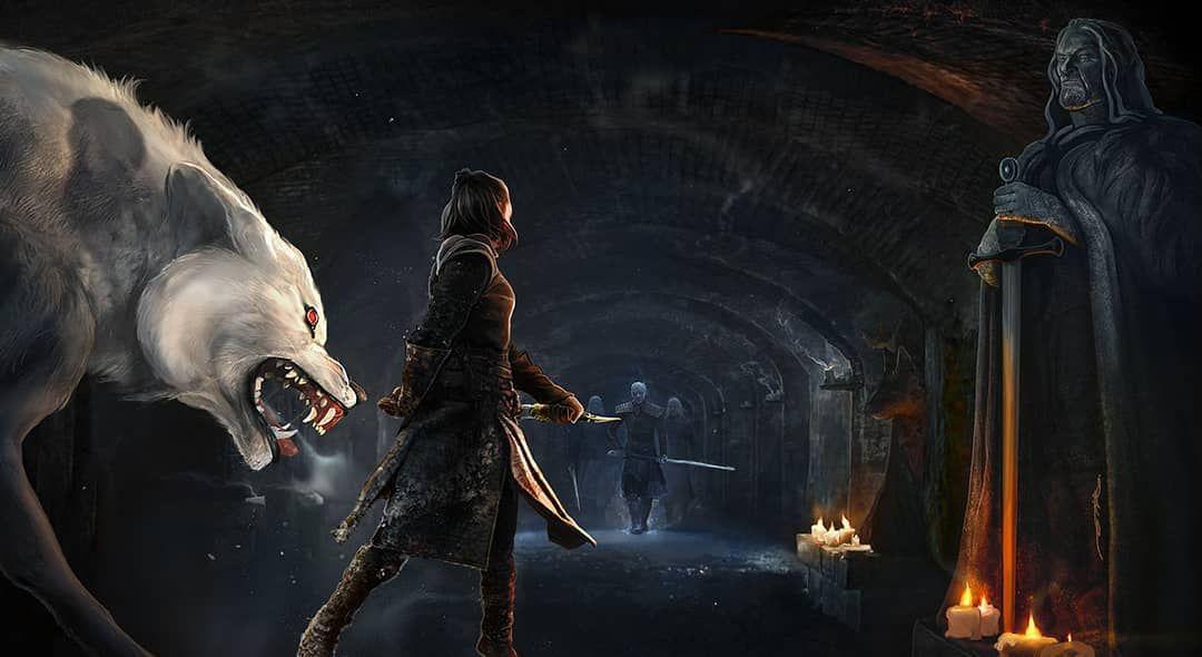 Crypts Of Winterfell By Ertacaltinoz Gameofthrones Fanart