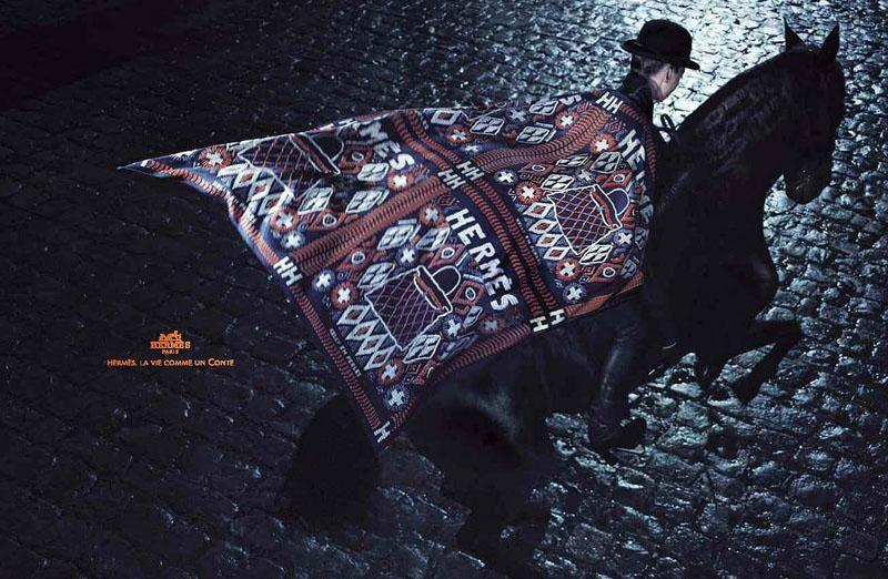 Constance Jablonski: Hermès Fall 2010 Campaign | Sassi Sam Girlie Gossip Files
