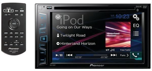 "Pioneer Avh-290Bt 6.2"" Double-Din In-Dash Dvd Receiver With Bluetooth(R) & Wvga Clear-Resistive Touchscreen"