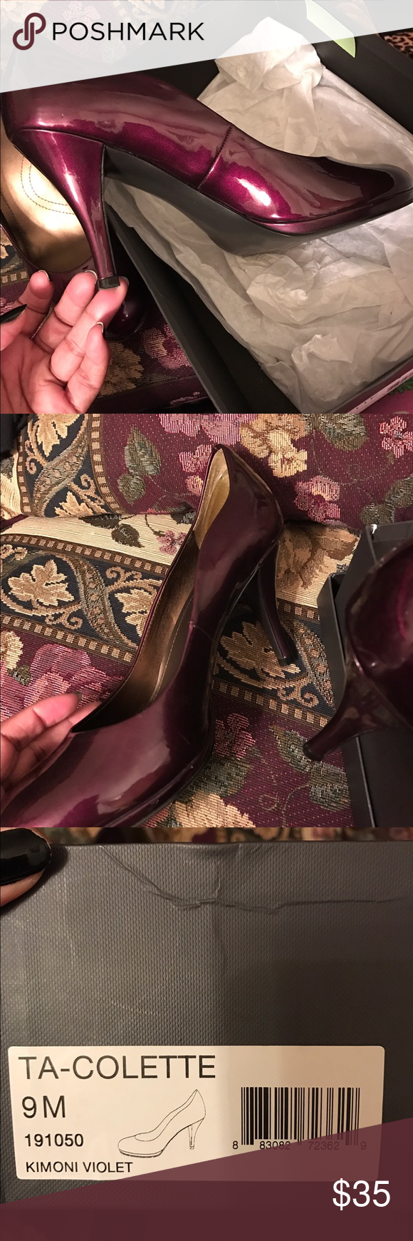 Beautiful shoes! 👠 Kimono Violet shoes- size 9. Looks new and classy. Shoes Heels