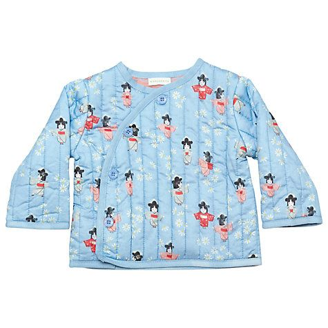 Buy Margherita Kids Baby Geisha Quilted Jacket, Angel Falls Online at johnlewis.com