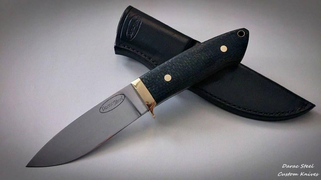Daracsteel Loveless Style Drop Point Handmade Knives Knife Knife Design