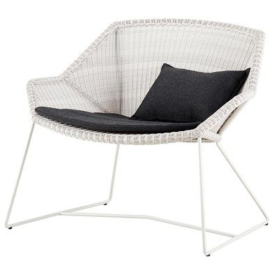 Breeze Lounge Chair Cane Line Chair Modern Outdoor Chairs Outdoor Chairs