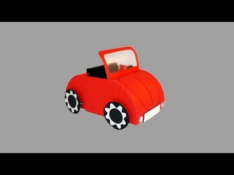 Auto Aus Papier Bastelanleitung Youtube