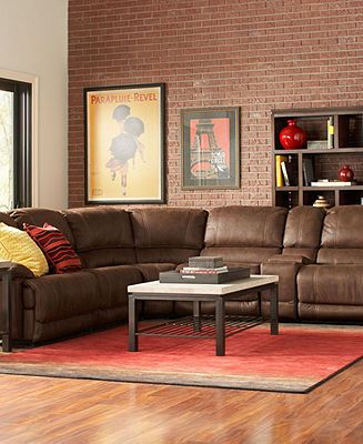 Jedd Fabric Sectional Living Room Furniture Collection ...