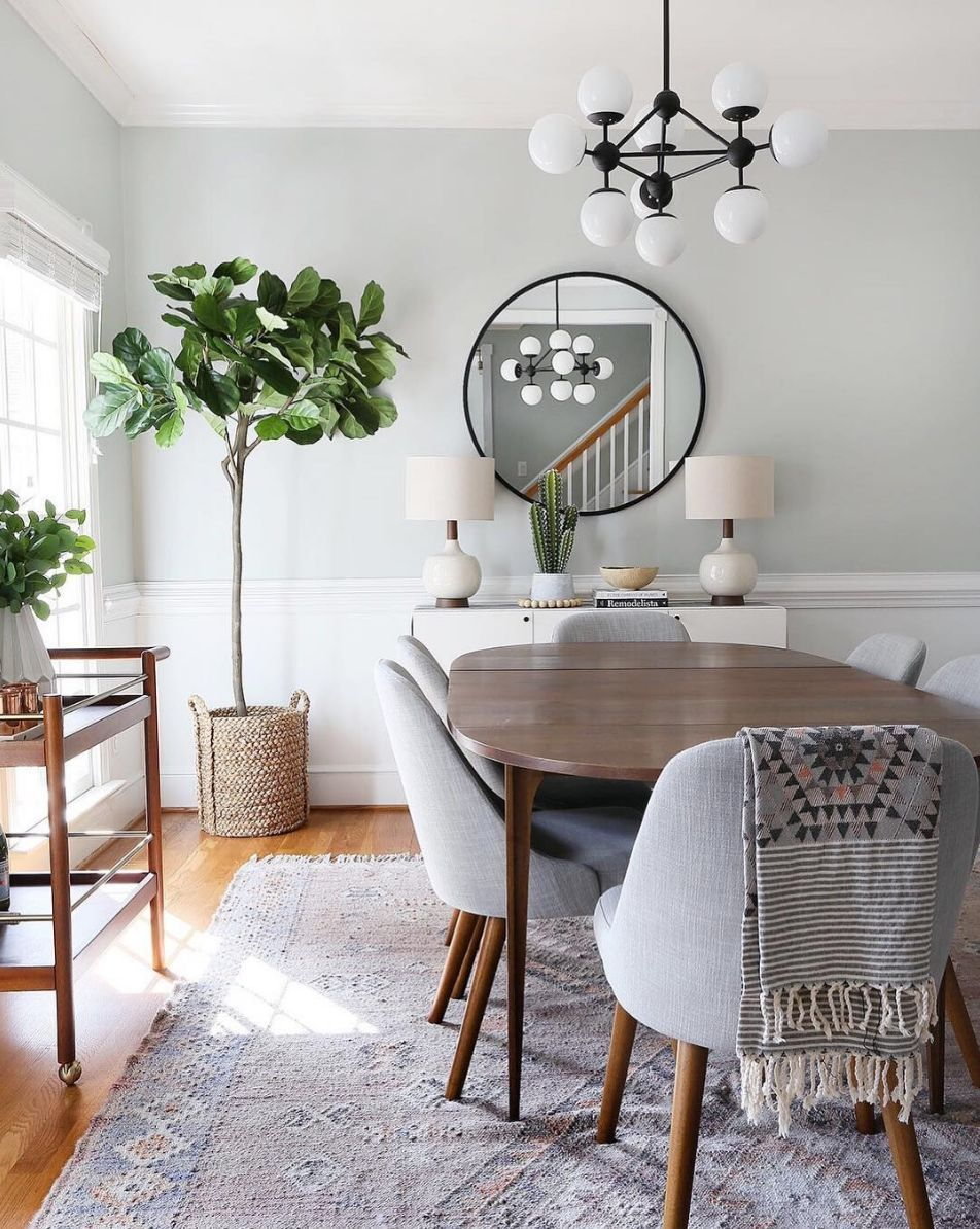 Today Vintage Style S Blog Decided To Select The Top 5 Blue Dining Rooms So You Can Feel Inspired For Your 2019 Home Redecoration