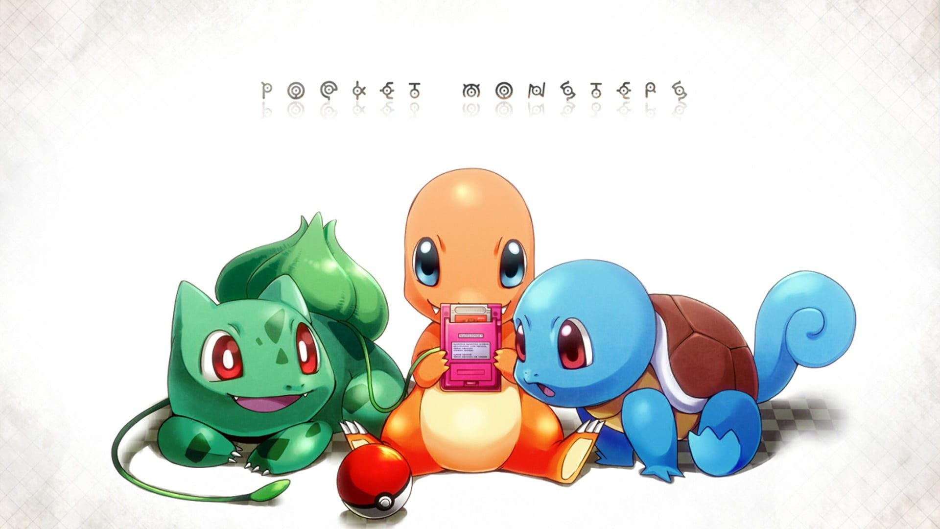 Pokemon Character Digital Wallpaper Pokemon Squirtle Bulbasaur Charmander 1080p Wallpaper Hdwallp Pokemon Poster Pokemon Coloring Pokemon Coloring Pages