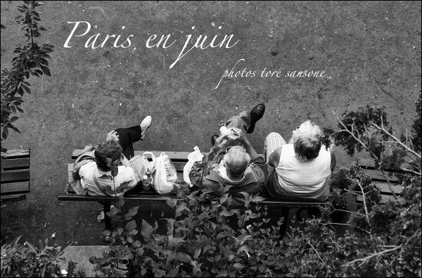 """""""Paris en juin"""" by Salvatore Sansone, via Behance"""